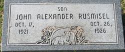 John Alexander Rusmisel