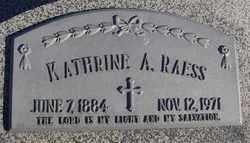 Kathrine A <i>Vetter</i> Raess