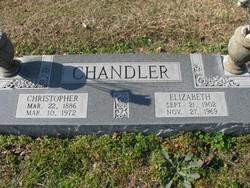 Elizabeth Mama Lizzie <i>Vaughan</i> Chandler
