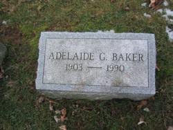 Adelaide G. <i>Gibson</i> Baker