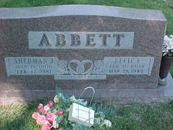 Effie Irene <i>Burks</i> Abbett