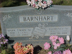 Mark Twain Barnhart, Sr