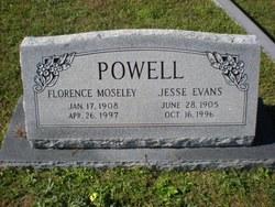 Jesse <i>Evans</i> Powell