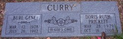 Doris Ruth <i>Prickett</i> Curry