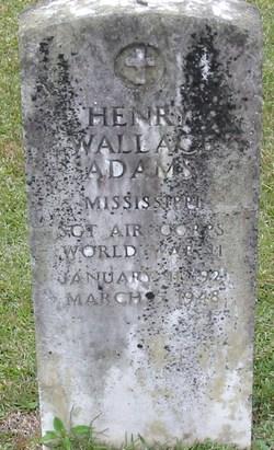 Sgt Henry Wallace Adams