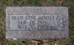 Billie Gene Abbott