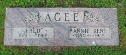 Annie <i>Kent</i> Agee
