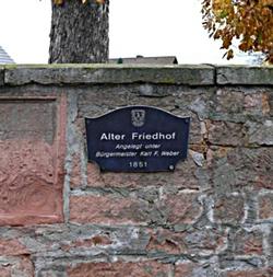 Meerholz (Alter Gemeindefriedhof)