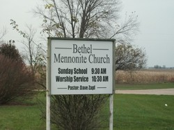 Bethel Mennonite Church Cemetery