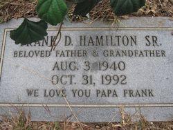 Frank D Hamilton, Sr