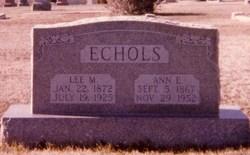 Anne Eliza <i>Ervin</i> Echols