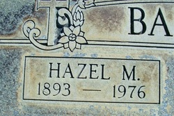 Hazel Marie <i>Crimm</i> Bailey