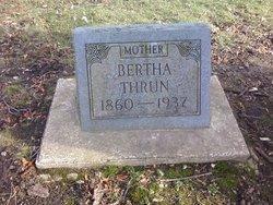 Bertha <i>Poch</i> Thrun