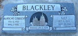 Blanche Bernice <i>Cowley</i> Blackley