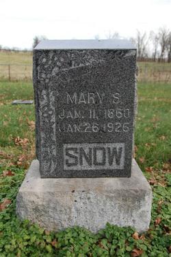 Mary S Snow