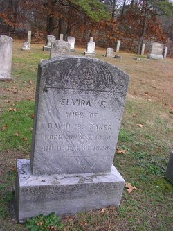 Elvira F. <i>Cahoon</i> Baker