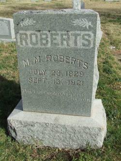 Martin M Roberts