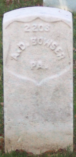 Alexander D. Bowser