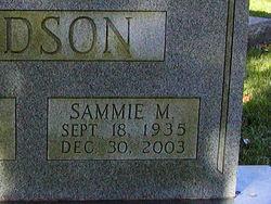 Sammie <i>Meade</i> Dodson