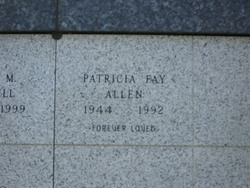 Patricia Fay Allen