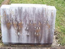 Barney I Klein, Sr