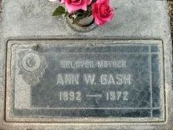 Ann <i>Warner</i> Gash