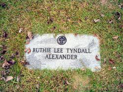 Ruthie Lee <i>Tyndall</i> Alexander