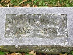 Myrtle <i>Luce</i> Bailey