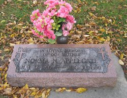 Norma N. <i>Walker</i> Applegate
