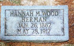 Hannah Mary <i>Wood</i> Herman