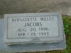 Bernadette <i>Millet</i> Jacobs