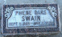 Phebe Ann <i>Oaks</i> Swain