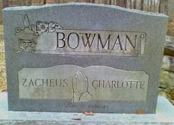 Charlotte Bowman