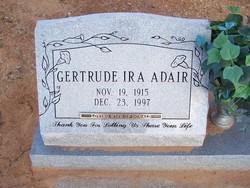 Gertrude Ira <i>Bloomfield</i> Adair