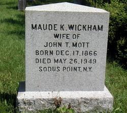 Maude K. <i>Wickham</i> Mott