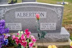 Geneva Katherine <i>Lee</i> Albertson