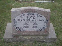 Lou <i>Moorehead</i> Boyd