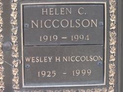 Wesley Holt Niccolson