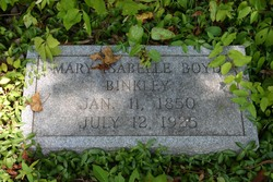 Mary Isabelle <i>Boyd</i> Binkley