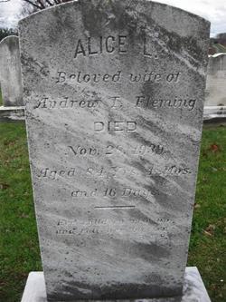 Alice L. <i>Young</i> Fleming
