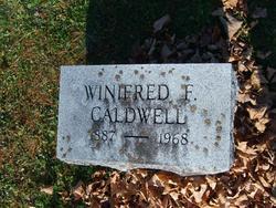 Winifred F <i>Keefer</i> Caldwell
