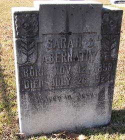 Sarah C. Abernathy