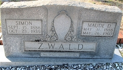 Maude Caroline <i>Deaton</i> Zwald
