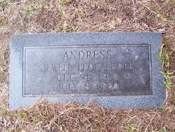 Jewell Leona <i>Hopp</i> Andress
