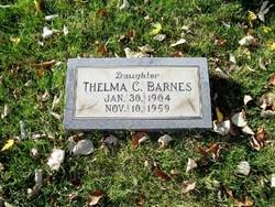 Thelma C Barnes