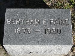 Bertram F Paine