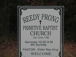 Reedy Prong Church Cemetery