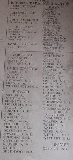 Private George Hall