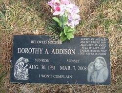 Dorothy A <i>Burns</i> Addison