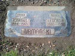 Leocadia <i>Szulta</i> Urmanski